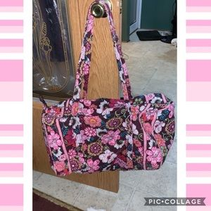 Used Vera Bradley duffle bag